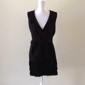 Nanette Lenore black fringe dress